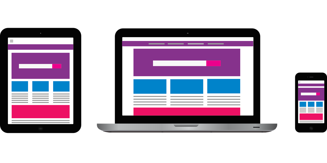 responsive mobile ready website designs
